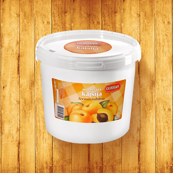 Apricot jam Thermostable 5000g