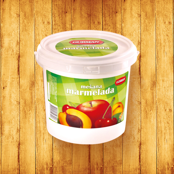 Mixed fruits jam 2900g