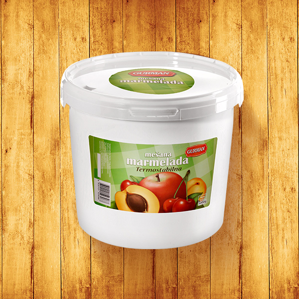 Mixed fruits jam Thermostable 5000g