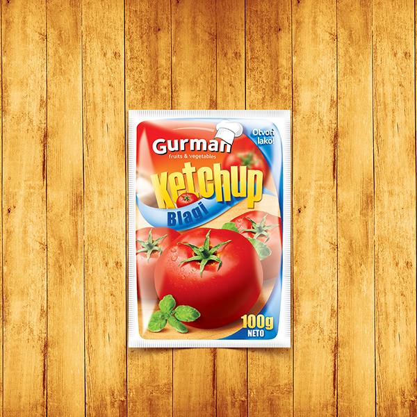 Tomato Ketchup Mild 100g