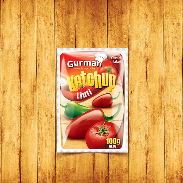 Tomato Ketchup Hot 100g