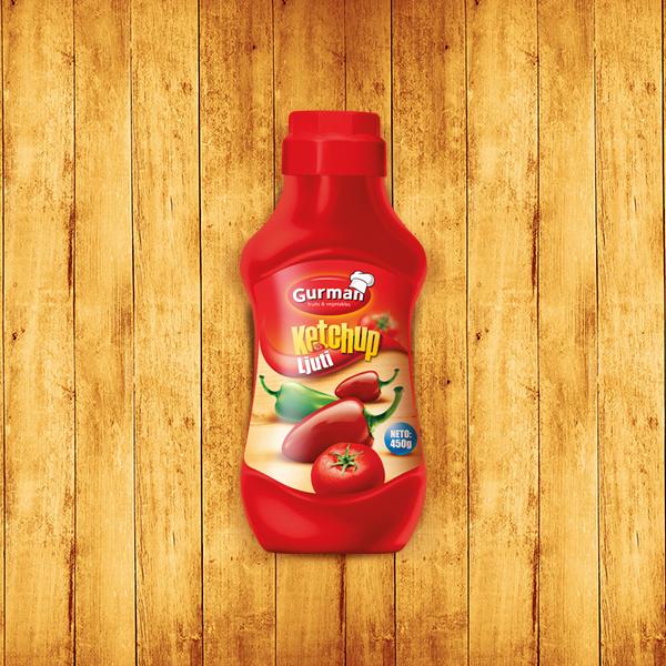 Tomato Ketchup Hot 450g