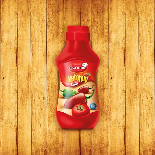 Tomato Ketchup Hot 750g