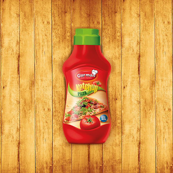 Tomato Ketchup Pizza 750g