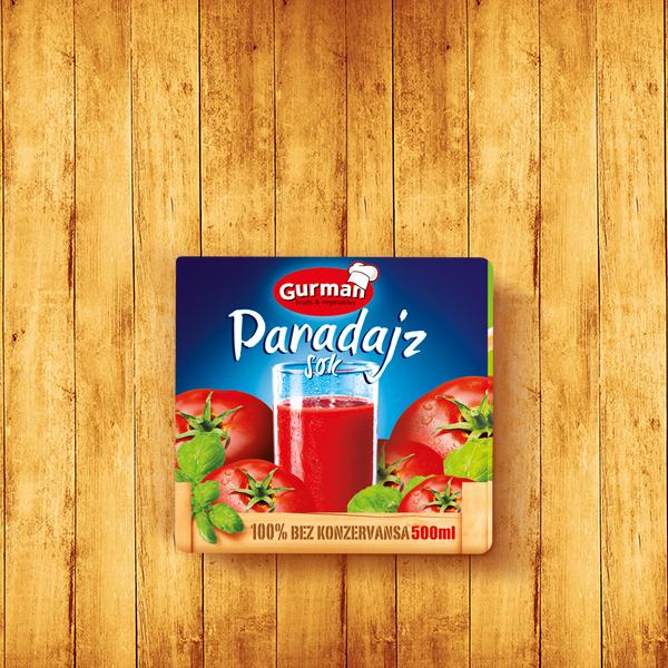 Tomato juice Mild Tetrapak 500ml