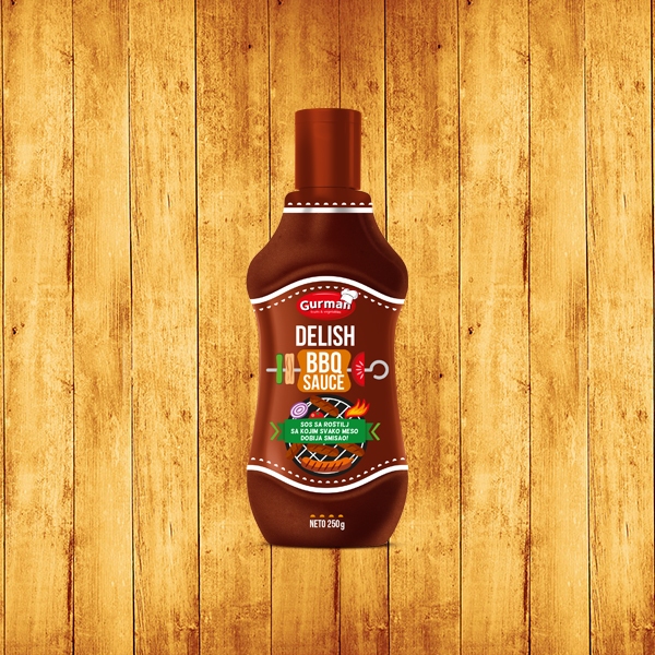 Delish BBQ sos 250ml