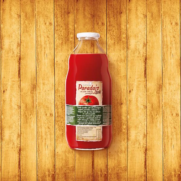 Sok od sveže ceđenog paradajza 1l